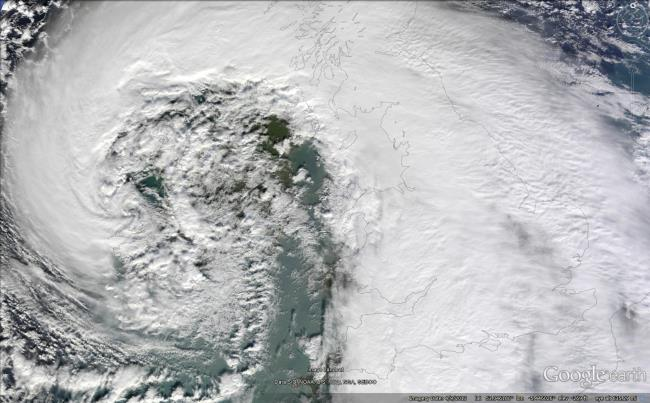 extratropical cyclone