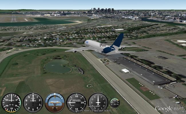 Using the Google Earth Flight Simulator - Google Earth Blog
