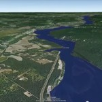 Exploring the possibilities of a new dam using Google Earth