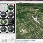 Google Earth drone control