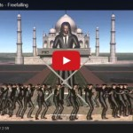 Freefalling music video – ode to Google Earth