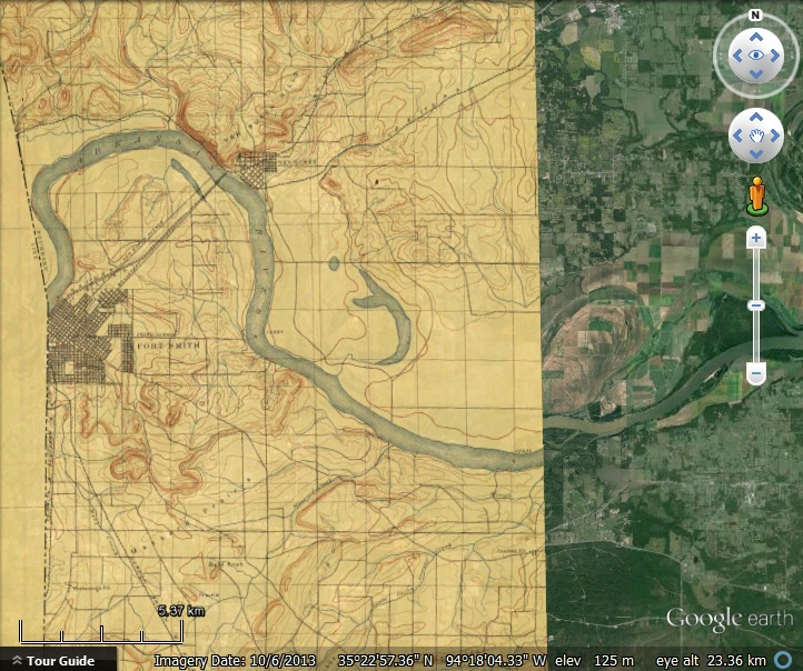 USGS Historical Topographic Maps - Google Earth Blog