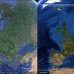 Google Earth's 'background' imagery