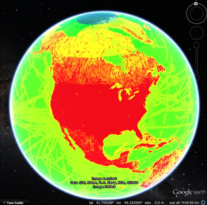 You Can Zoom In Maps Of The Earth on
