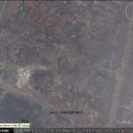 Crater and blast damage of Tianjin explosions now visible in Google Earth