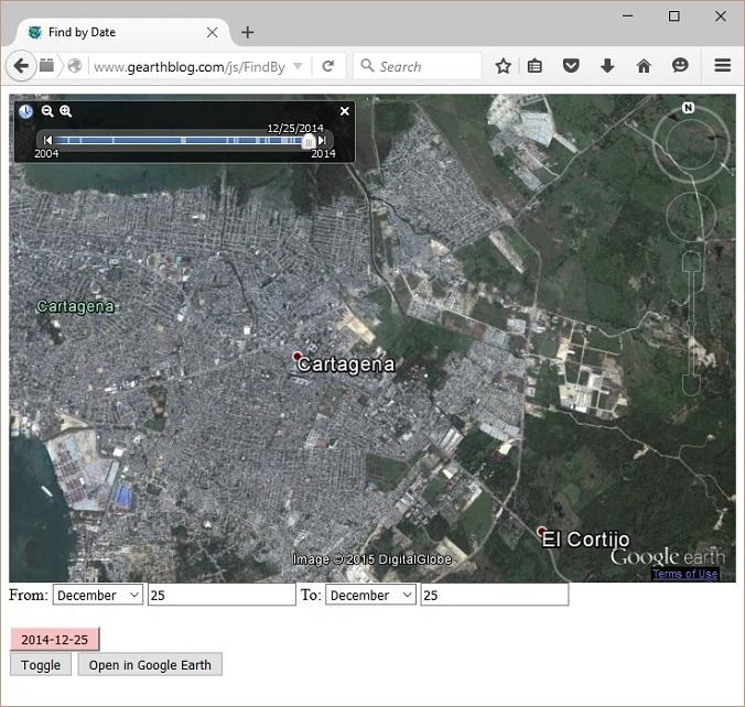 Χάρτης Google dating