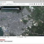 Find imagery by date with the Google Earth API