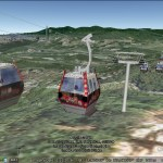 4D Gondola in Google Earth