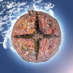 'Little Planets' – Fisheye art from Google Earth imagery