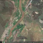 Floods around the world as seen in Google Earth