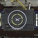 SpaceX in Google Earth