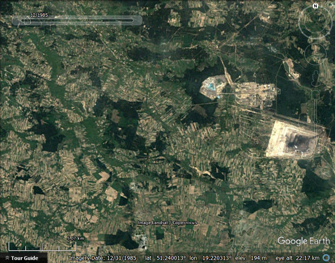 Animating Open Pit Mines with Google Earth - Google Earth Blog