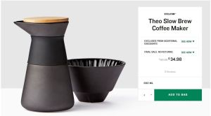 Theo Slow Brew Coffee Maker