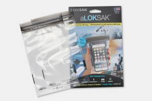 aLOKSAK Waterproof Phone & Tablet Bags (4-Pack)