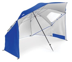 Sport-Brella Portable All-Weather and Sun Umbrella. 8-Foot Canopy.