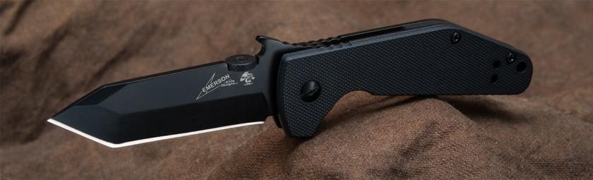 Kershaw CQC-3K Pocket Knife w/Emerson Wave Opener