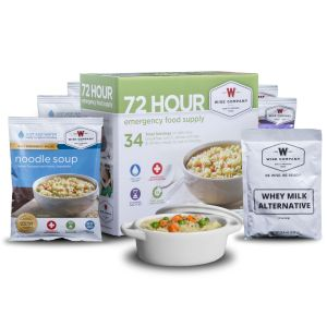 Wise 72 Hour Food Kit - Outdoor Emergency Camping Food