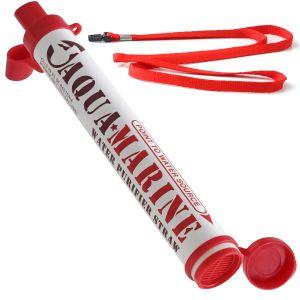 AquaMarine Purifier Straw Water Filter Personal Survival Kit Emergency Gear