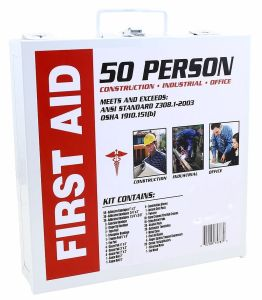 Home office Commercial business 50 Person Medical First Aid Kit Health Care ansi