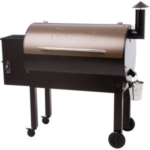 Traeger Grills Texas Elite 34 Wood Pellet Grill and Smoker - Grill, Smoke, Bake, Roast, Braise, and BBQ (Bronze)