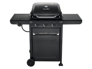Char-Broil 463771015 Charcoal/Gas Hybrid 3-Burner Grill