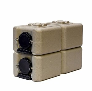 Water Storage Containers - WaterBrick - 2 Pack Tan