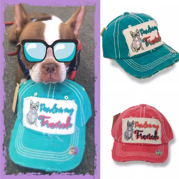 BY GEAR UP POET, POET THE PUPPY, DAD CAP, HATS