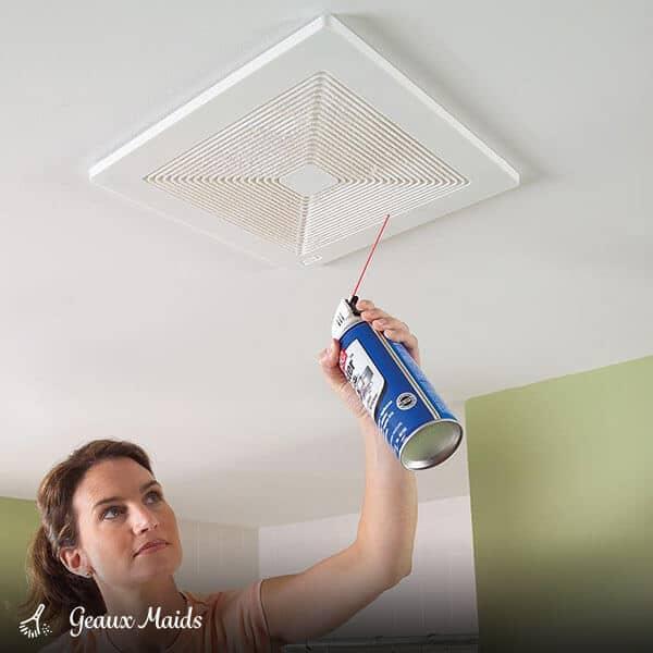 12.Clean the Exhaust Fan