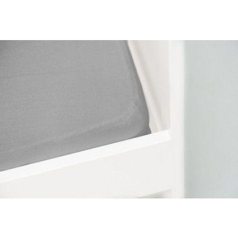 jersey hoeslaken licht grijs 70x150