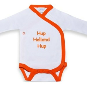 Funnies Overslag Romper Hup Holland Hup