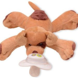 Nookums Paci-Plushies Buddies Patches de Puppy