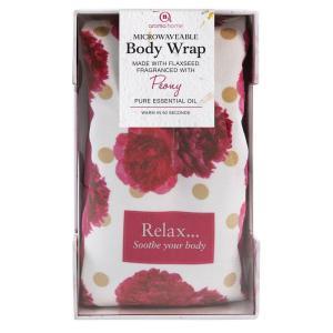 Aroma Home Body Wrap Peony