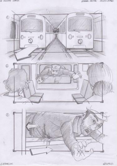 Storyboard - la Onzieme station - 02
