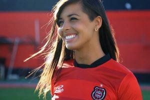 Jéssica Soares foi a Musa do Gauchão em 2014. Foto: TV Xavante