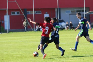 Sub-17 ficou no 0 a 0 com o Rosário. Foto: Jonathan Silva