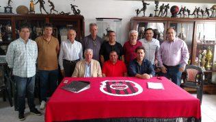 Brasil e Porto 5 firmaram mais um passo na construção do novo Bento Freitas. Foto: Carlos Insaurriaga
