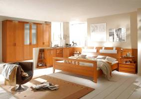 Schlafzimmer Kirschbaum gebraucht kaufen 2 St. bis  70 ...