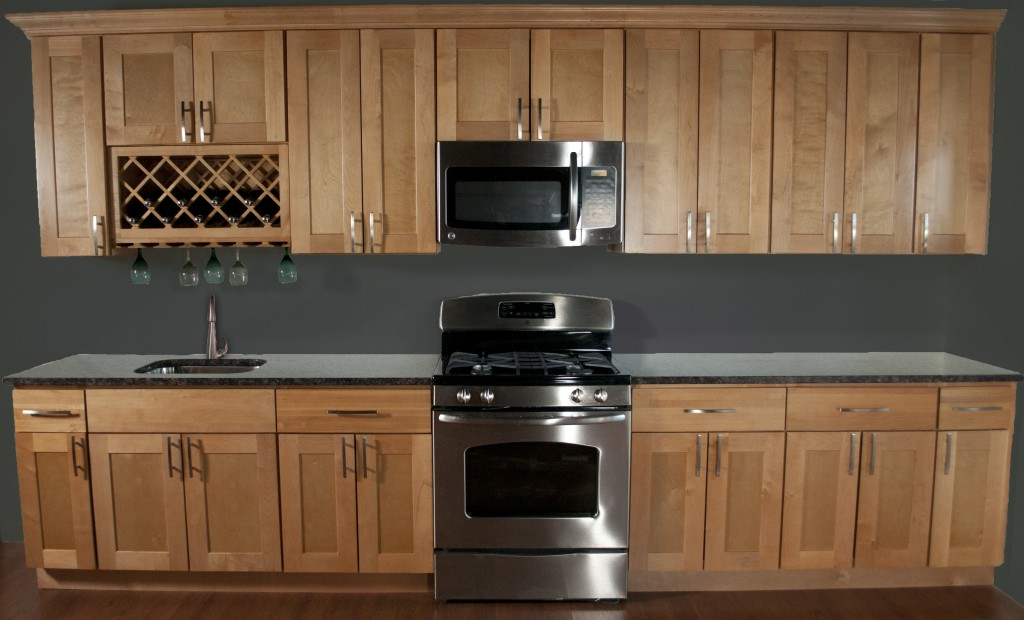 Quality Northern Maple Kitchen Cabinets in Minneapolis, USA on Natural Maple Cabinets  id=70105