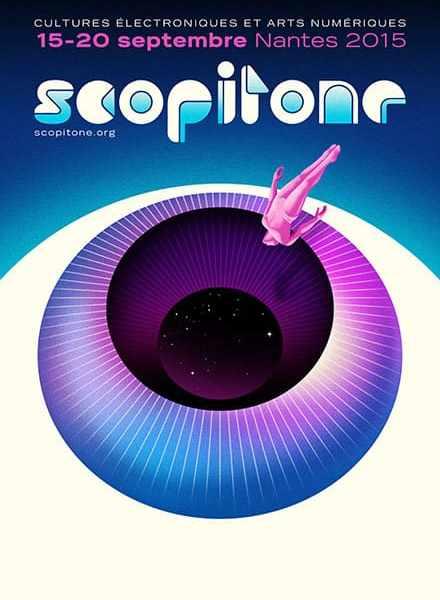 Scopitone affiche 2015 | Festival