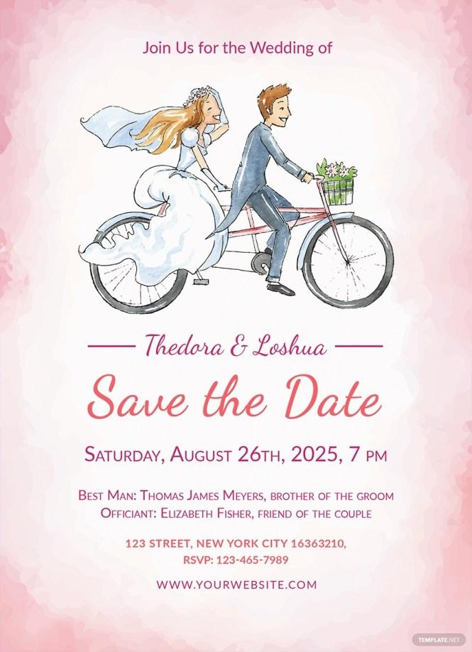30 Free Wedding Invitation Template