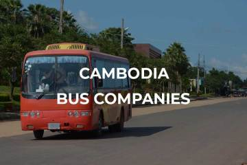 Bus companies Cambodia