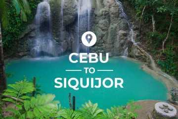 Cebu to Siquijor cover image