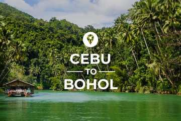 Cebu to Bohol cover image