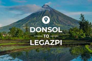 Donsol to Legazpi cover image