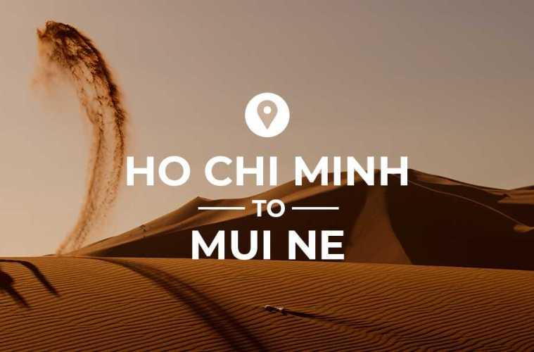 Ho chi Minh to Mui Ne cover image