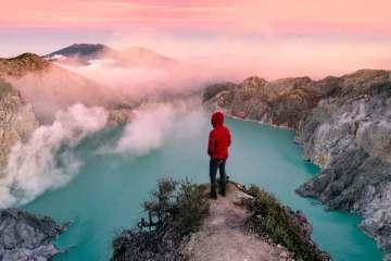 Ijen vulcano Indonesia