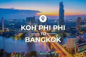 Koh Phi Phi to Bangkok cover image