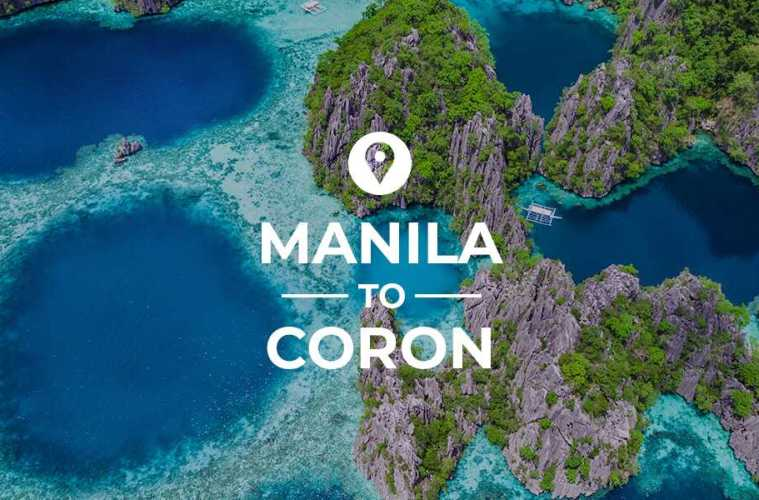 Manila to Coron cover image