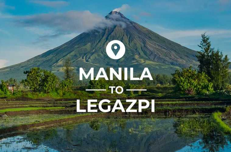Manila to Legazpi cover image