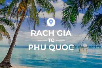 Rach Gia Ferry Port to Phu Quoc cover image